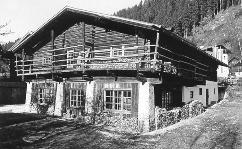 Kammerlanderstall, Neukirchen am Großvenediger, Tauriska, Leopold Kohr Akademie, Vötter