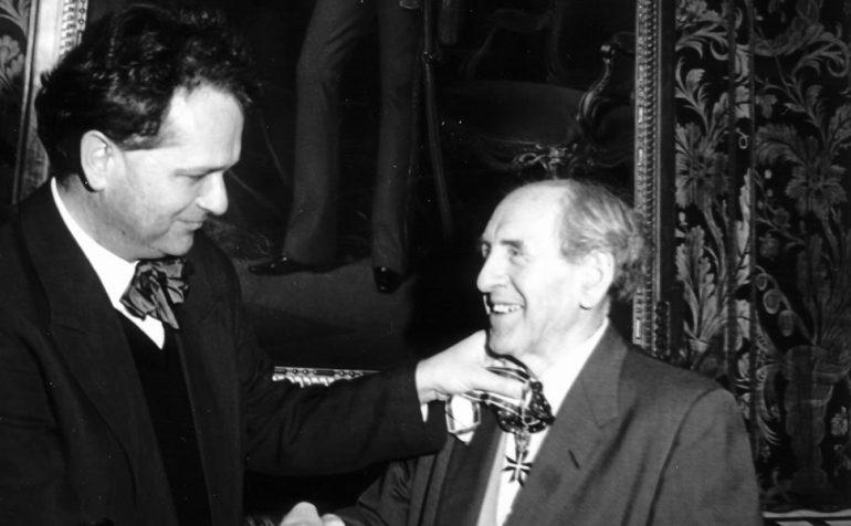 Leopold Kohr, Alfred Winter, Verleihung, Salzburg, Auszeichnung, Arbeit, Lehre, Leopold Kohr Akademie