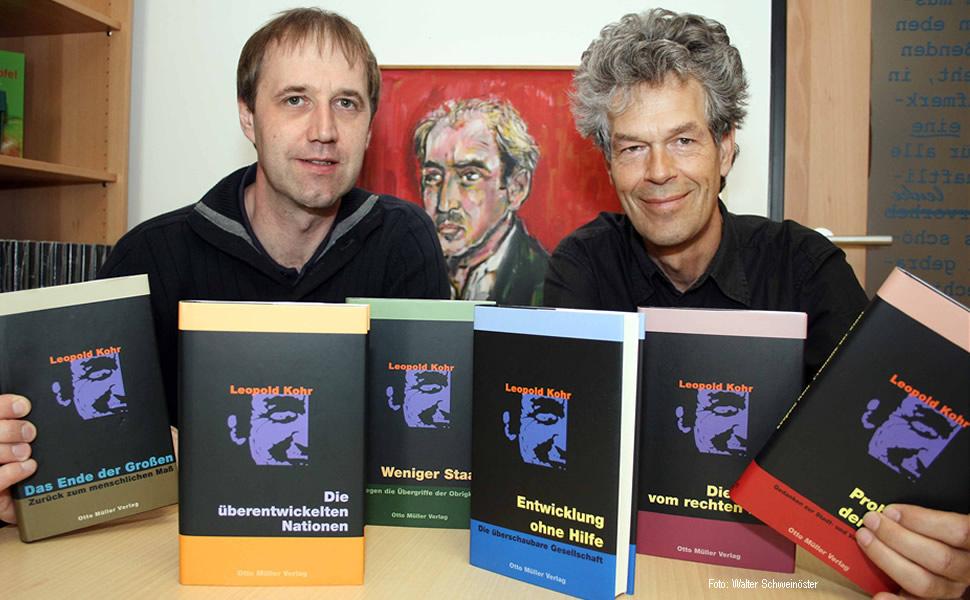 Witzany, Hiebl, Bücher, Gesamtwerk, Leopold Kohr, Universität Salzburg, Leopold Kohr Akademie