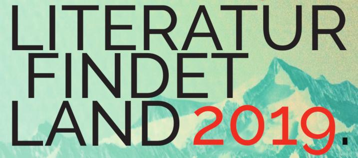 Festival Literatur findet Land 2019. Tauriska, Neukirchen.